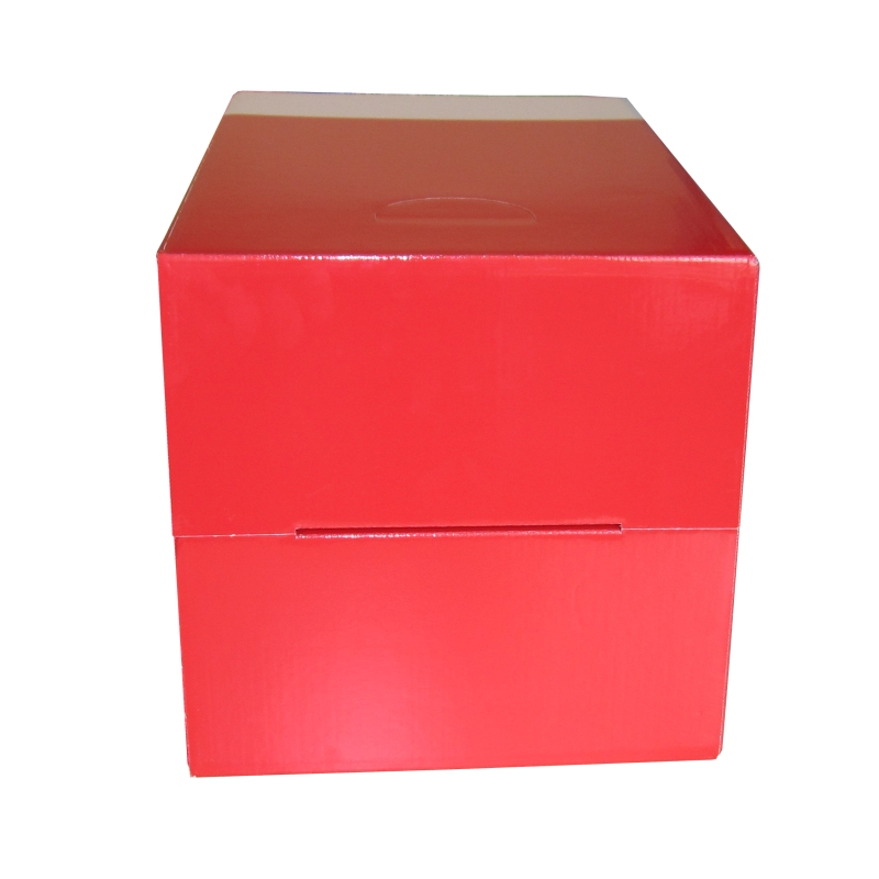 pappCube Red 10er Set